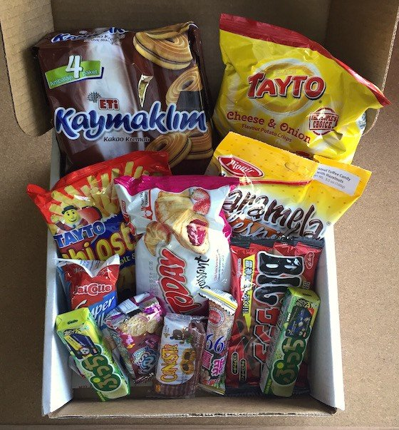 MunchPak Subscription Box Review + Coupon September 2015 - Contents