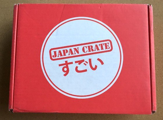 Japan Crate Subscription Box Review November 2015 - Box