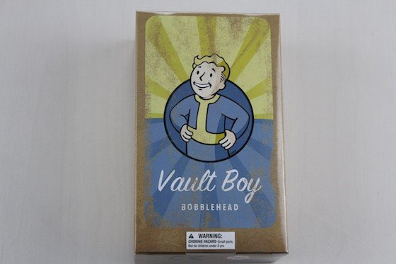 Loot Crate Subscription Box Review & Coupon November 2015 - Vault Boy Bobblehead