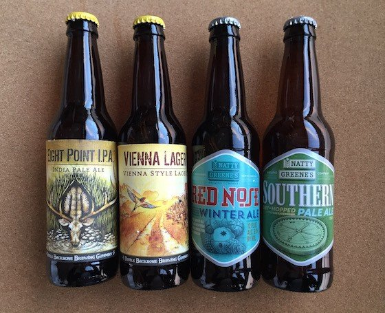 Craft Beer Club Subscription Box Review December 2015 - Contents