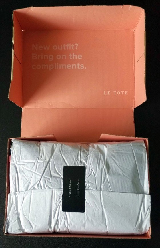 LE TOTE #8 - packaging