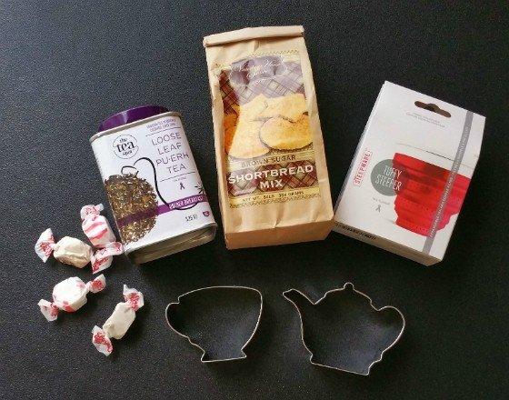 Tea Box Express Subscription Box Review December 2015 - all items