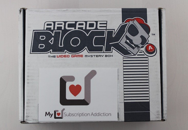 Arcade Block Subscription Box Review + Coupon February 2016 - box