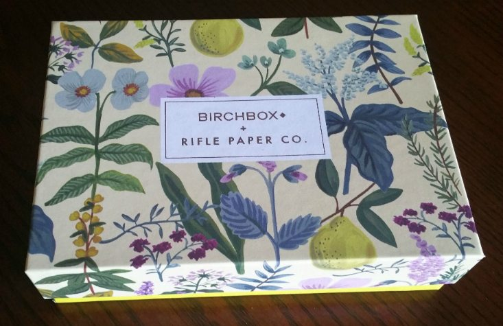 BIRCHBOX APRIL 2016 - BOX