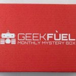 Geek Fuel Subscription Box Review + Exclusive Coupon – April 2016