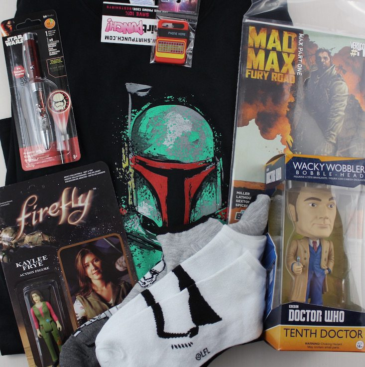Sci Fi Block Subscription Box Review + Coupon April 2016 - al items