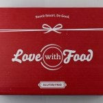 Love with Food Gluten Free Box Review + Coupon – April 2016
