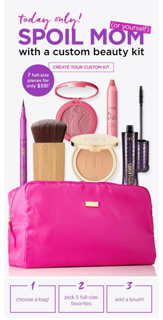 Sephora Subscription Box Reviews: Tarte Create Your Own Beauty Box Review – May 2016