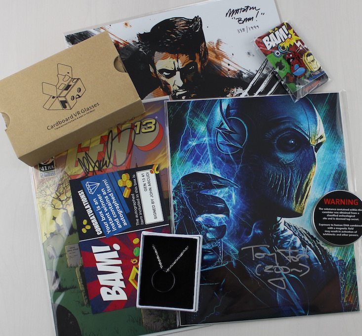 The BAM! Box Subscription Box Review + Coupon May 2016 - all items