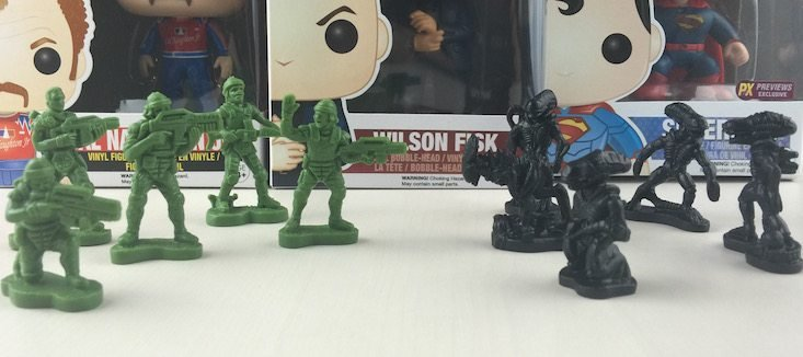 Sci Fi Block Subscription Box Review + Coupon June 2016 - toy soldier battle