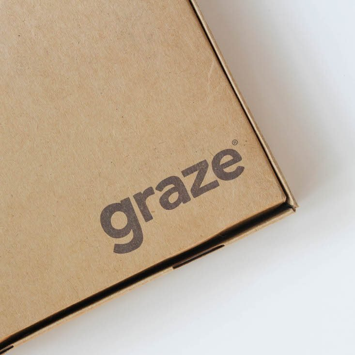 Graze Top 20 Box Review + Free Box Coupon July 2016 - box