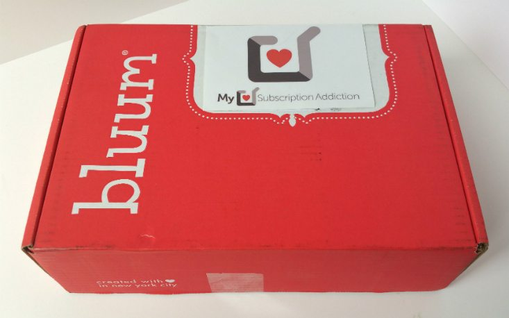 BLUUM JULY 2016 - BOX
