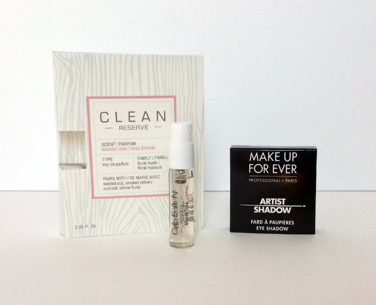 PLAY BY SEPHORA AUGUST 2016 - items 3