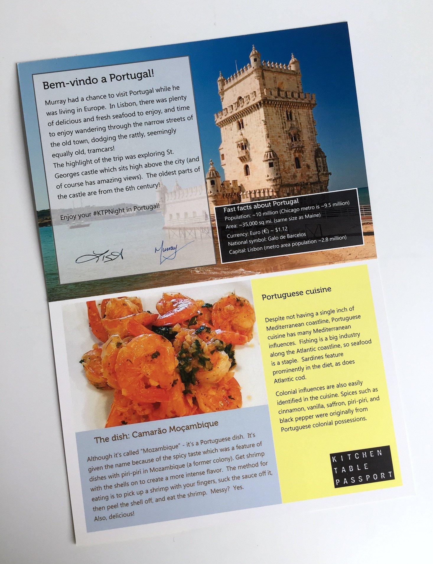 Kitchen Table Passport Subscription