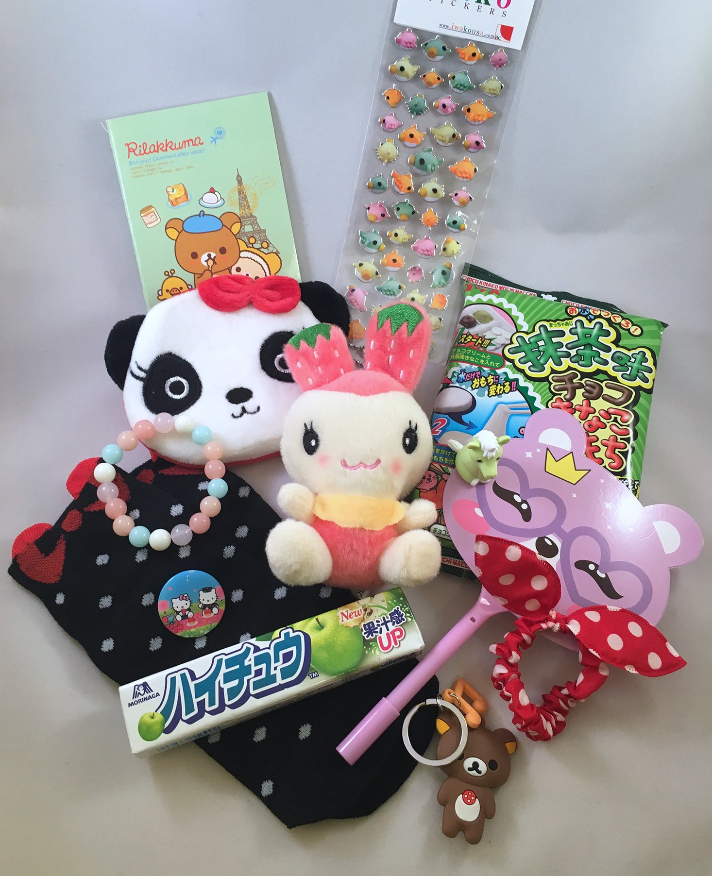 The-CuteBox-August-2016-Contents