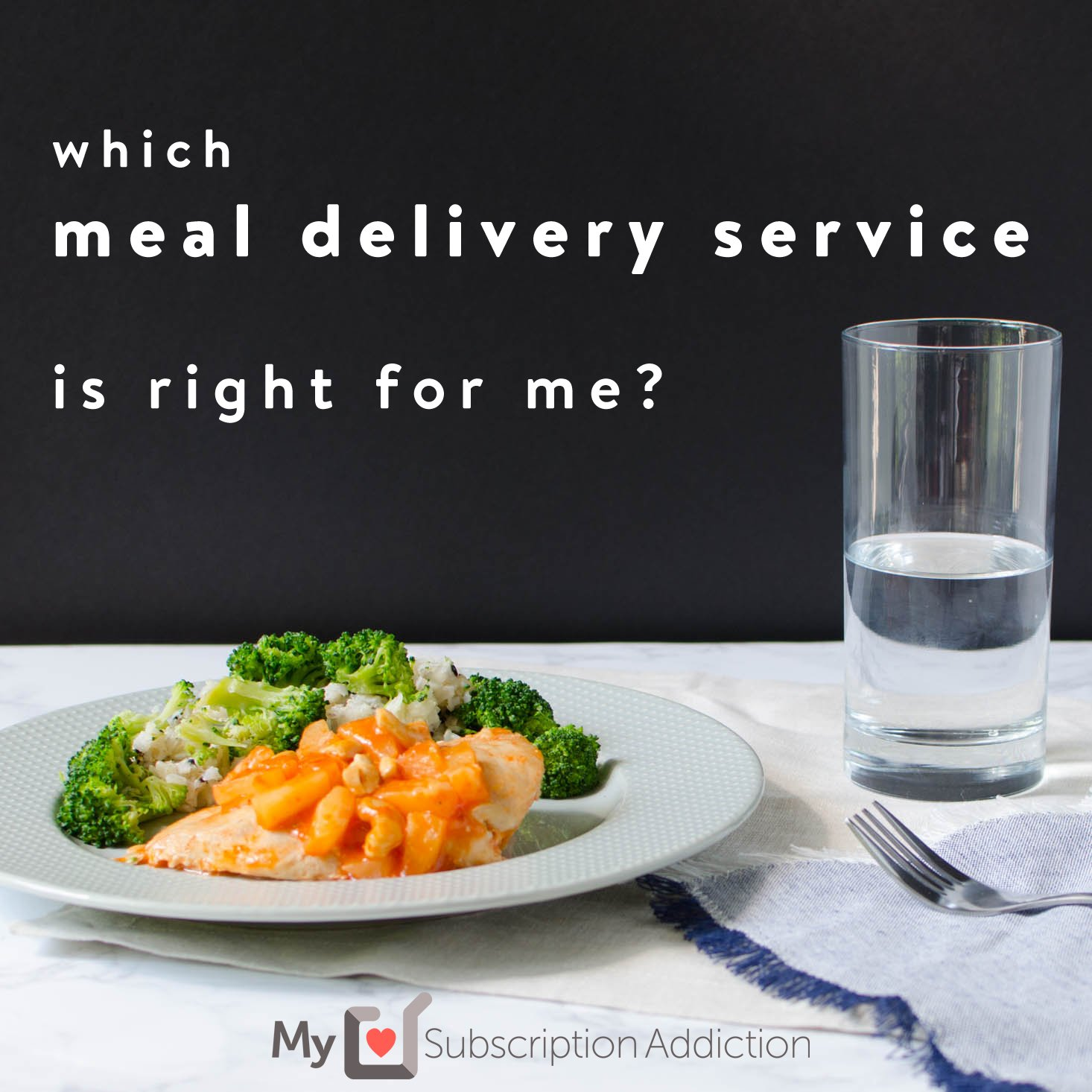 Which meal delivery service is right for me?
