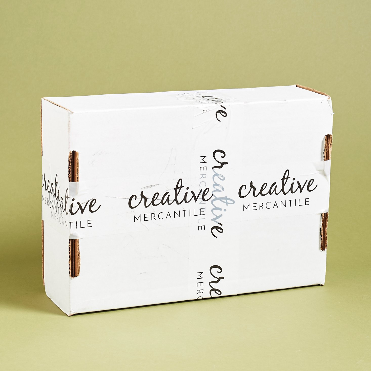 Read our review of the December 2016 Creative Mercantile Box!