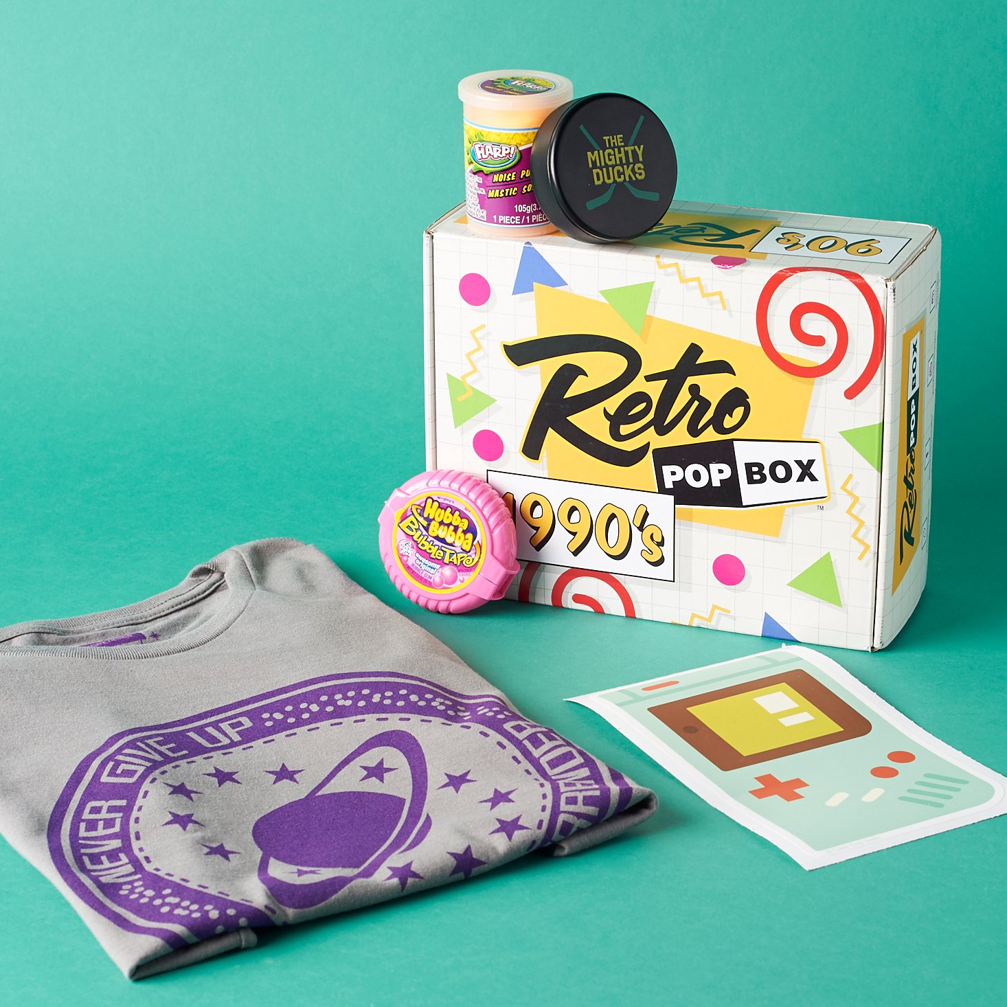 Read our review of the January 2017 Retro Pop '90s box!
