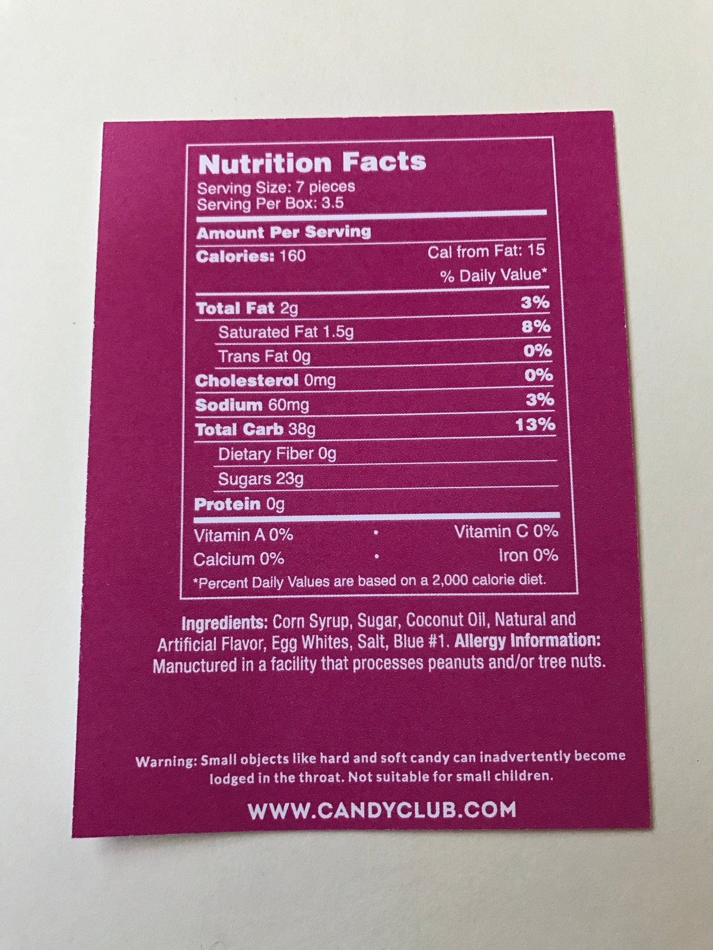 Candy-Club-April-2017-Nutrition