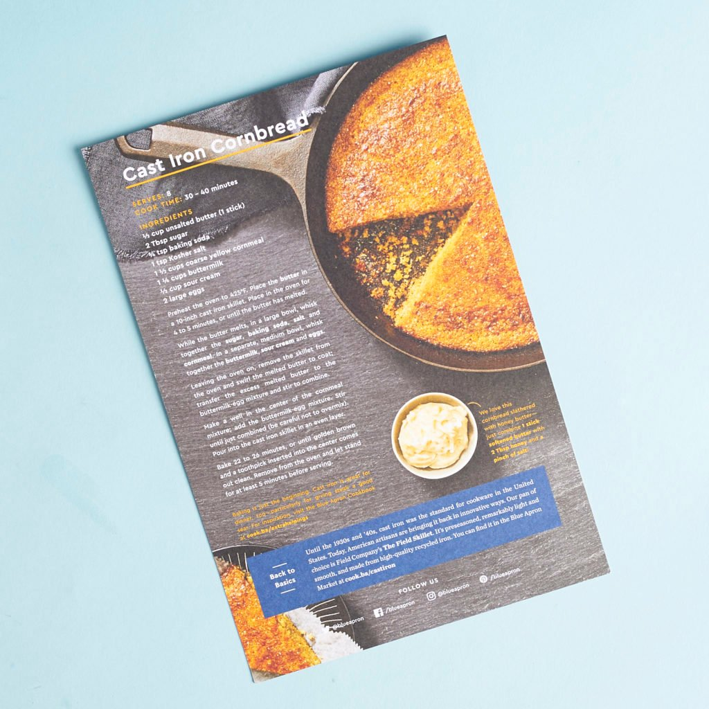 Check out our review of Blue Apron for April 2017!