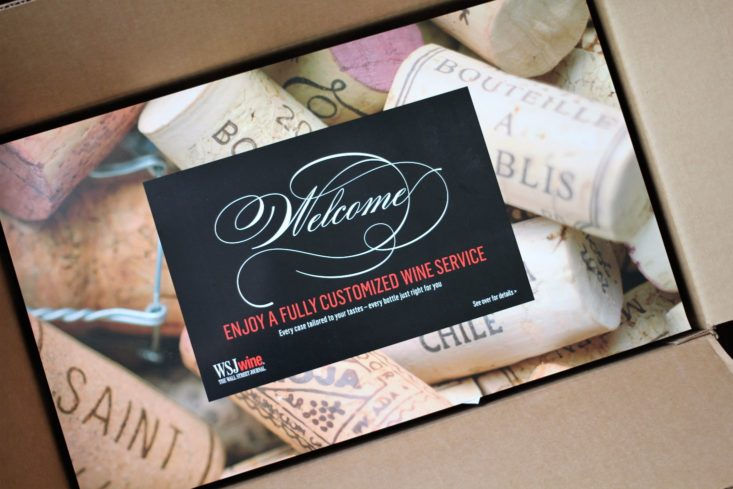 WSJ Wine Discovery Club - May 2017 - Box