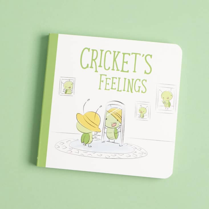 Cricket Crate Newborn Pack Box 3 of 3 - Board Book: Cricket's Feelings