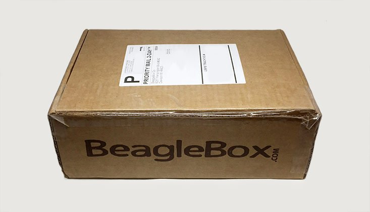 BeagleBox August 2017 Pet Subscription Box for Dogs