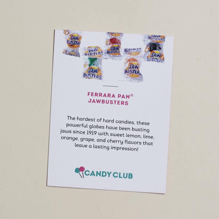 Candy Club July 2017 Subscription Box