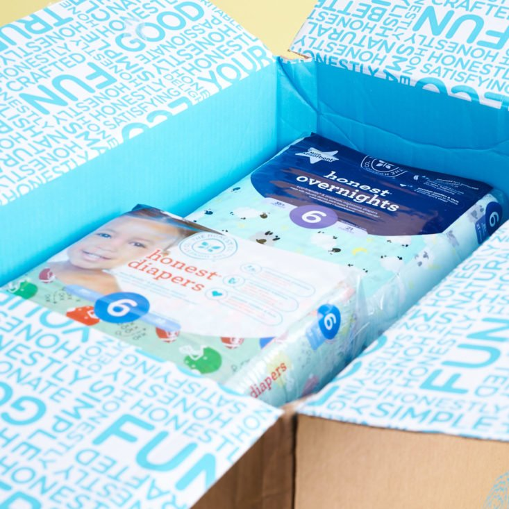 Honest Diapers Review & Unboxing