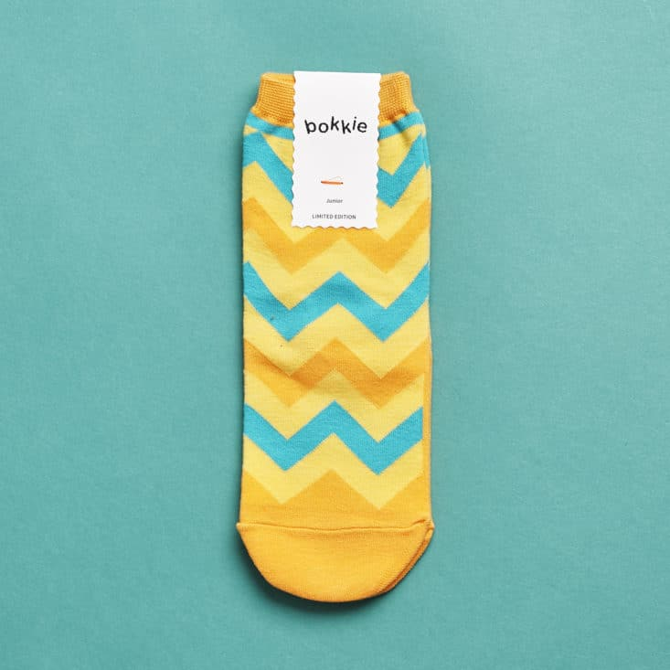 Say It With A Sock Girls Review, July 2017 - Bokkie Socks
