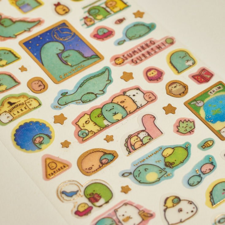 Love alpacas and dinosaurs? You'll love this month's August 2017 Stickii Club sticker subscription box!