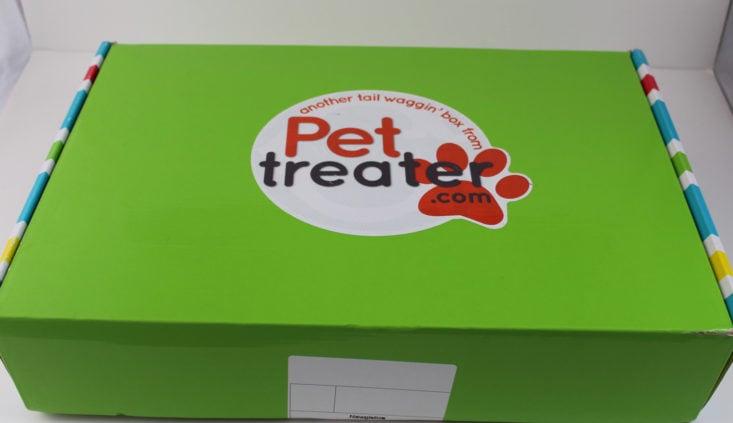 Pet Treater December 2017 Box