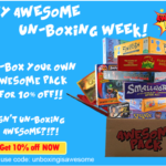Awesome Pack Coupon – 10% Off Your First Box!