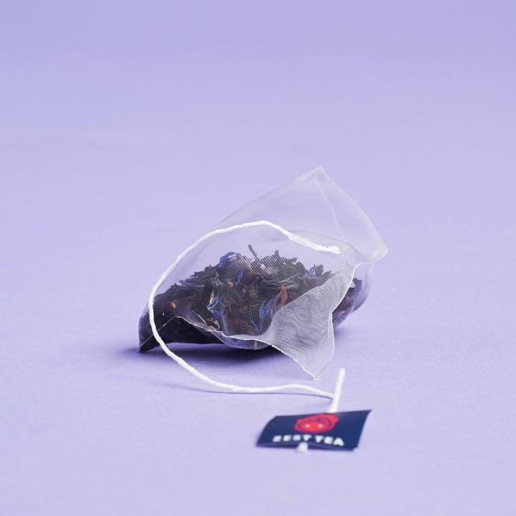 blue lady zest tea pyramid