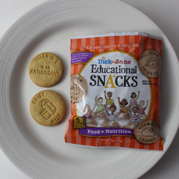 Dick and Jane's Educational Snacks Food and Nutrition
