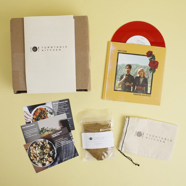 Turn Table Kitchen Turntable kitchen pairings box review december 2017 my contents of turntable kitchen pairings box december 2017 workwithnaturefo