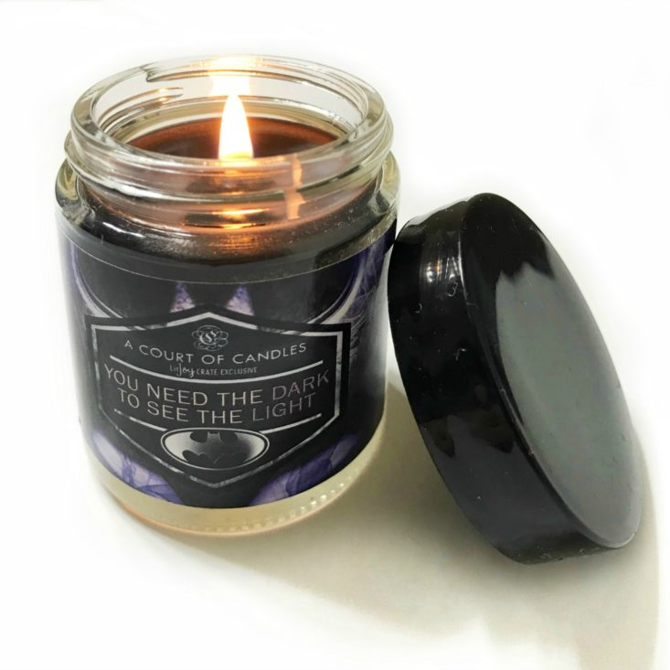Batman Double Layered Candle