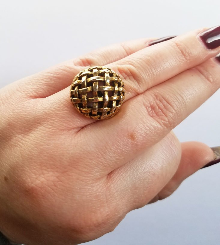 Crazy Hot Clothes Vintage Accessory February 2018 Ring 2
