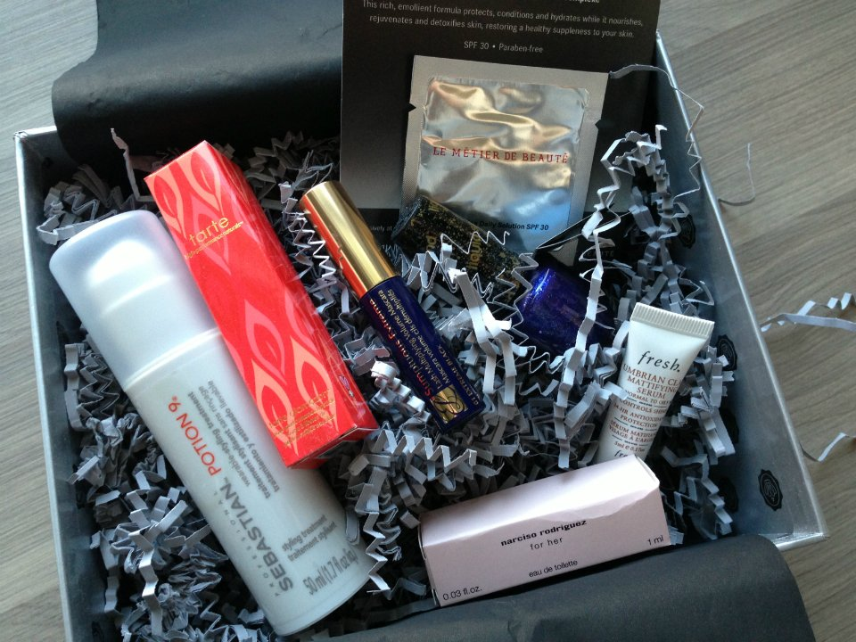 Man Repeller Glossy Box Review - January 2013 - Monthly Makeup Subscription Serivce