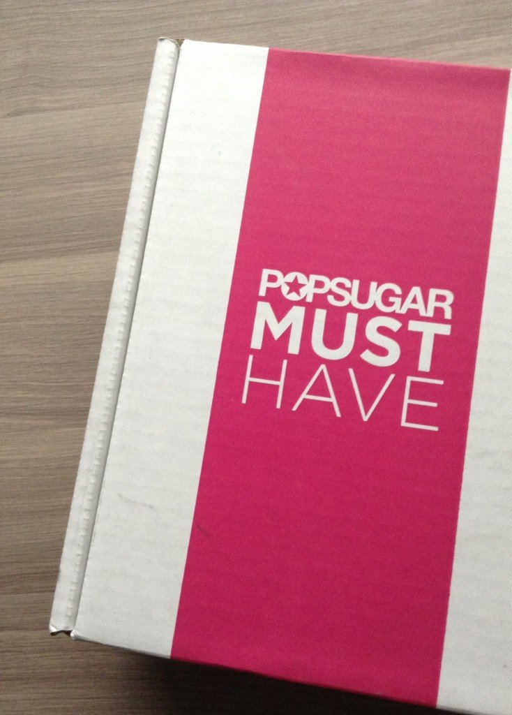 Pop Sugar Must Have - Subscription Box Review - April 2013