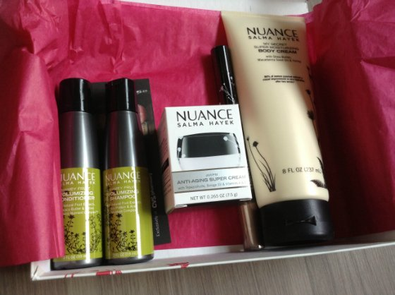 Special Edition Nuance Salma Hayek Birchbox Review
