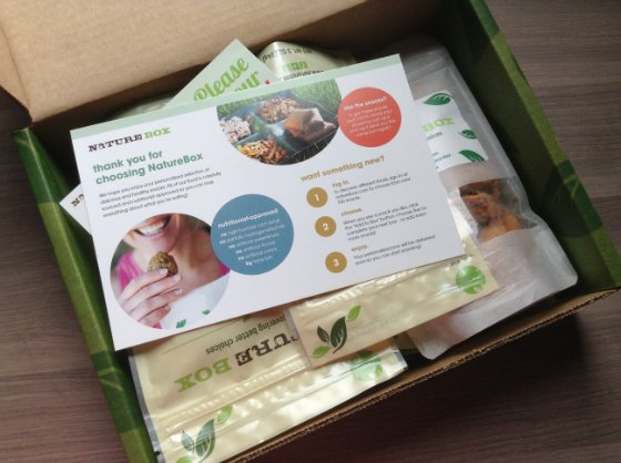 Nature Box Review & 50% Off Discount!