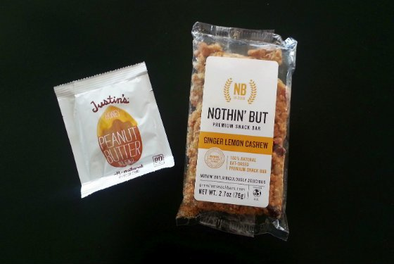 Bestowed Healthy Food Subscription Box Review - March 2014 Nothin