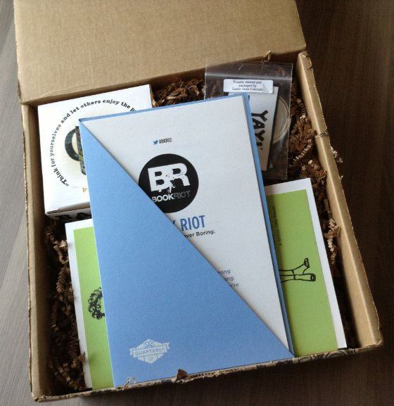 Book Riot Quarterly Subscription Box Review #BKR02 First Look