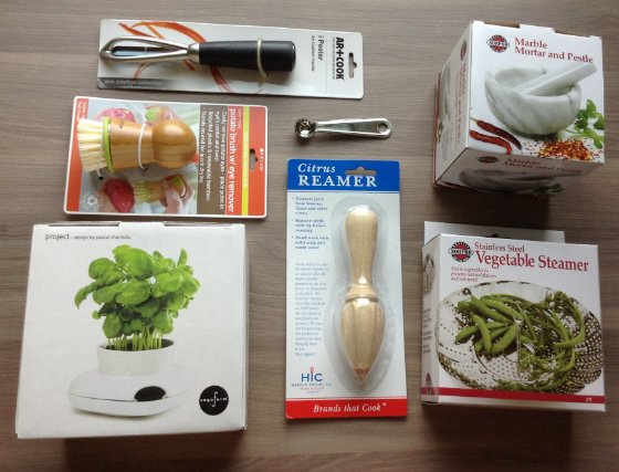 Tyler Florence Fancy Box Review - April 2014 items