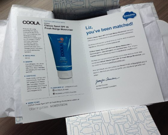 Beauty DNA Subscription Box Review - June 2014 SPF