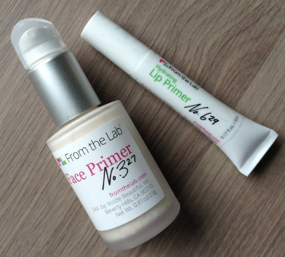 From The Lab Beauty Subscription Box Review – July 2014 Primer