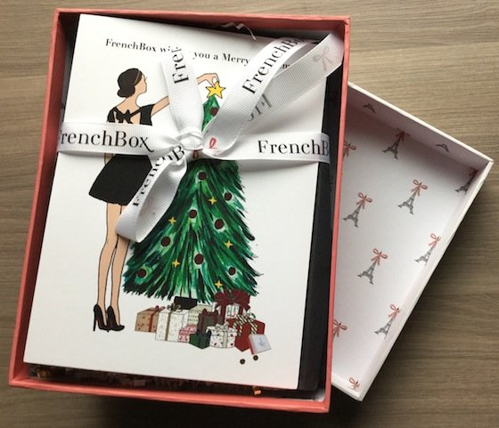 French Box Subscription Review – December 2014 FIrst Look