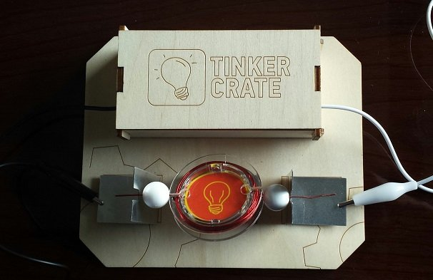 Tinker Crate Subscription Box Review - November 2014 Finished