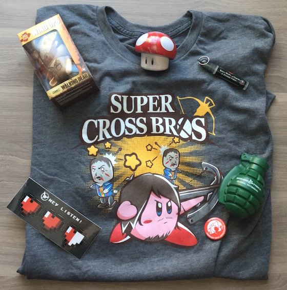 1UP Box Subscription Box Review - February 2015 Items